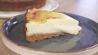 Receta de tarta de queso cremosa