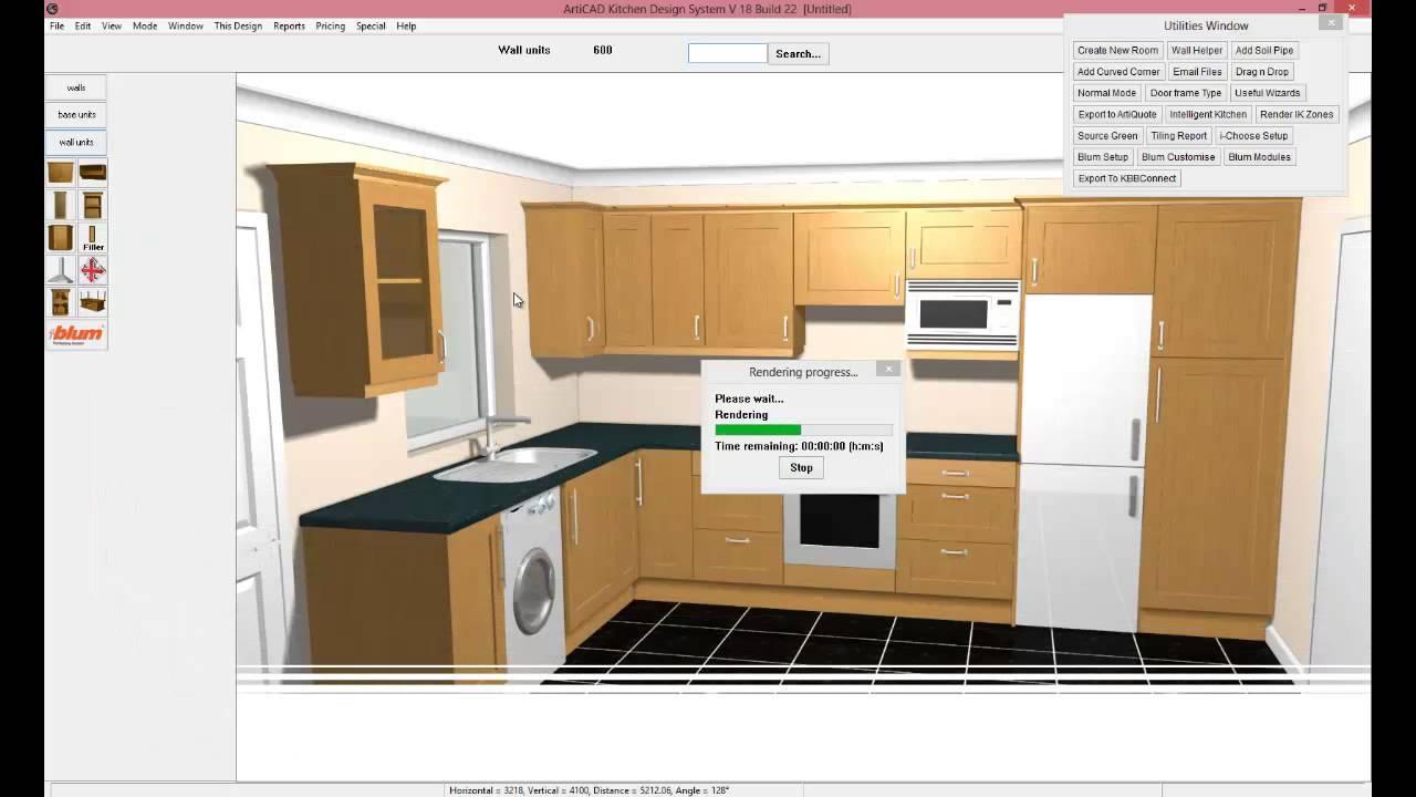 Kitchen Design Drawing Software