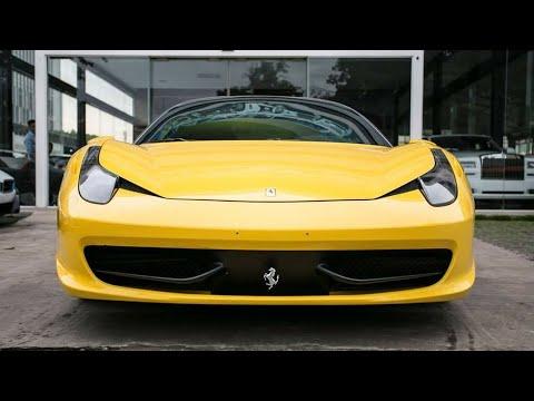 Ferrari 458 ITALIA, 2011, YELLOW, V8(4.5L)