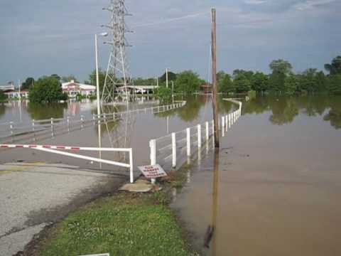 Jackson Fairgrounds-Flooded