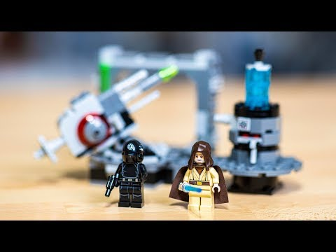 LEGO Star Wars Death Star Cannon Review - 75246