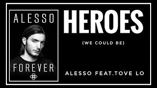 [SUB INDO] Alesso feat Tove Lo - HEROES (We Could Be) Lyrics