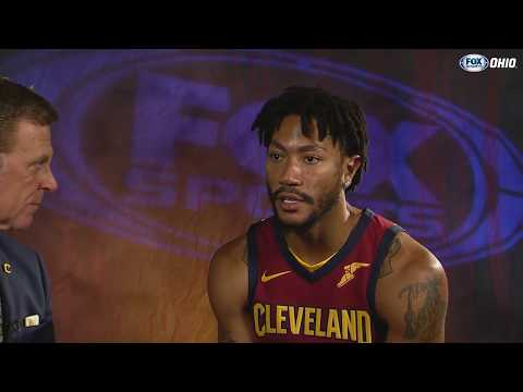 Exclusive: New member of Cavs Derrick Rose 1-on-1 with Fred McLeod