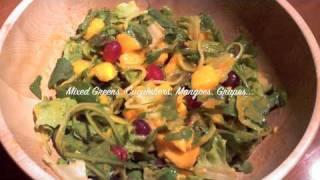 My Winter Meals: Low Fat Raw Vegan