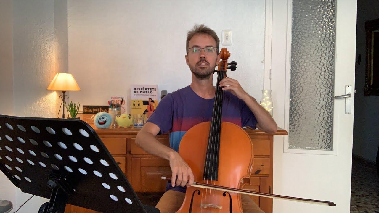 Estudiando Bach (Sarabandes) en Directo