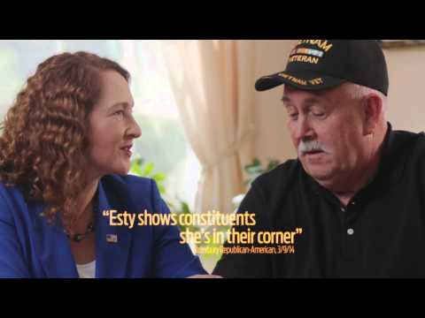 Elizabeth Esty's first TV ad for her re-election campaign for Connecticut's 5th Congressional District.