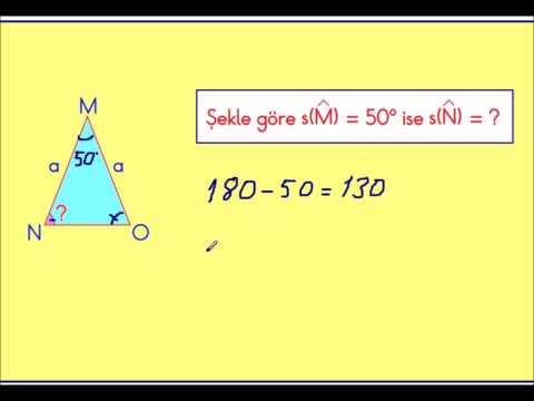 2015 Yeni 4  Sınıf Matematik Üçgenler konu anlatımı 02