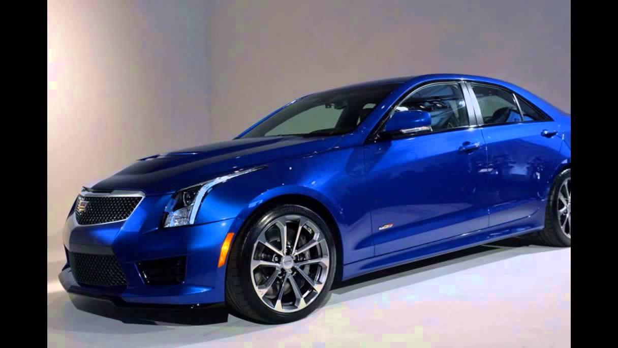 2016 Cadillac ATS-V Sedan Vector Blue Metallic - YouTube