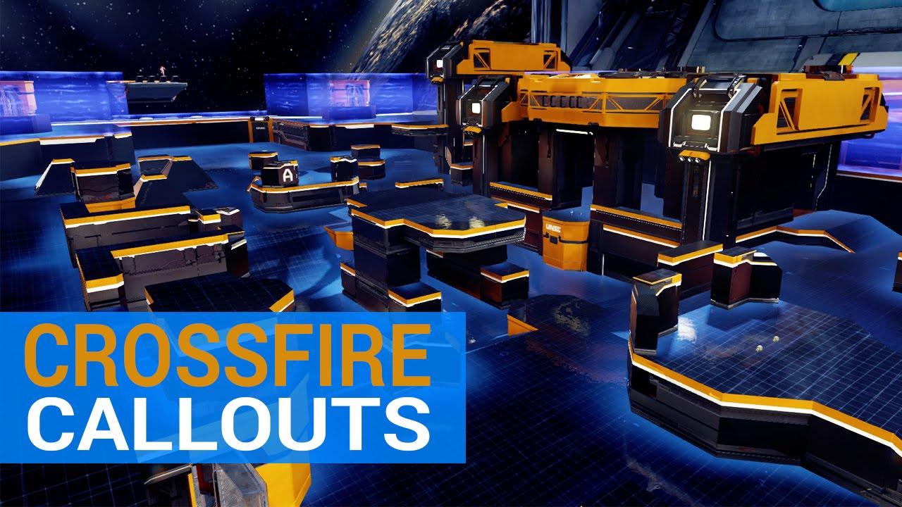 Halo 5 Callouts: Crossfire | Breakout Map