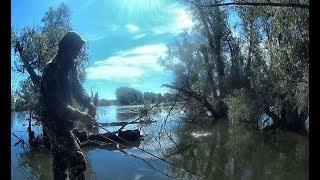 В ЗАТОПЛЕННОМ ЛЕСУ ЗАТЕРЯННОГО ОЗЕРА!!!! Рыбалка  2019 джиг  Aiko Espada PRO  7-28