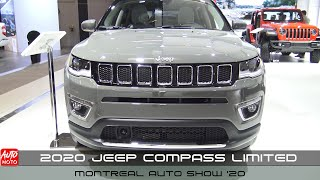 2020 Jeep Compass Limited - Exterior And Interior - Montreal Auto Show 2020