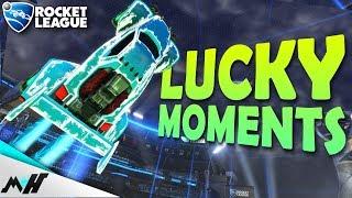 Rocket League - LUCKY GOALS & RANDOM MOMENTS
