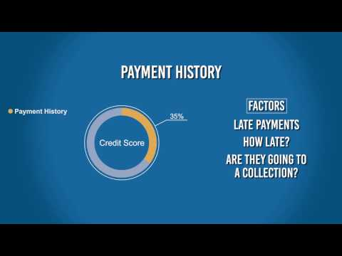 Understand the Credit Score Algorithm: Payment History