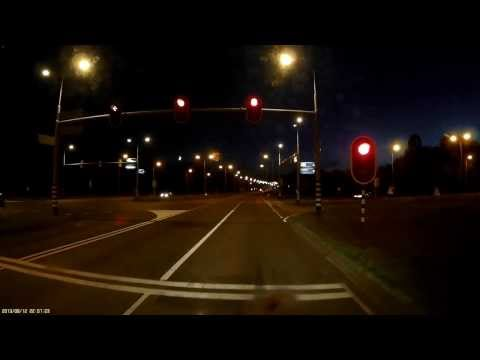 Mobius Dash Cam Night Low Light Recording