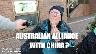 OLDER AUSTRALIANS DISCUSS POSSIBLE CHINESE ALLIANCE