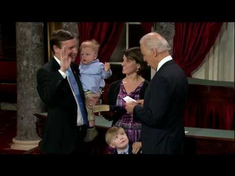 Swearing in of Senator Chris Murphy (D-Conn.)
