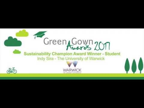 Indy Sira - Sustainability Champion Award Winner Green Gown Awards ...
