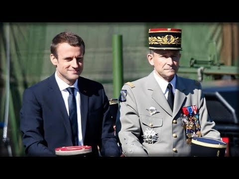 French General SHOCKS THE WORLD and DESTROYS Macron when he dropped ONE EPIC word to his face!