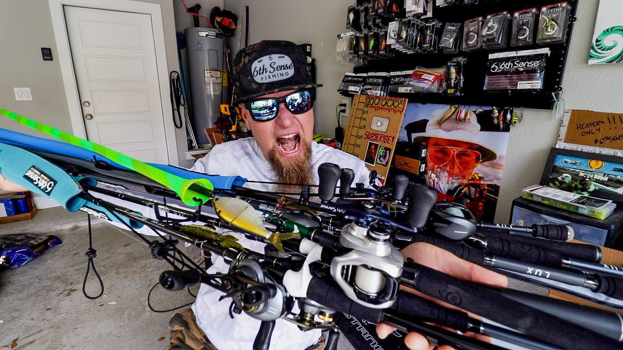 EVERY ROD & REEL SETUP I OWN! FULL ARSENAL FOR 12K!!!