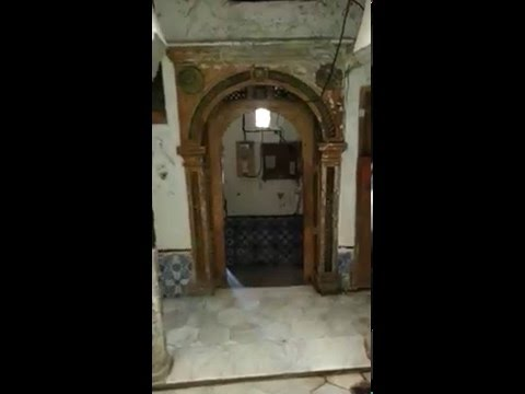 Algiers Casbah 360 rooftop view and tour of a traditional house, Algeria