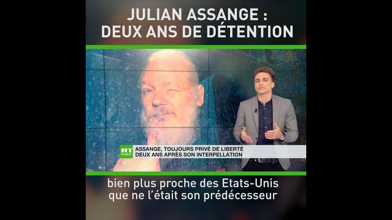 Download Julian Assange, toujours privé de liberté deux ans après son interpellation