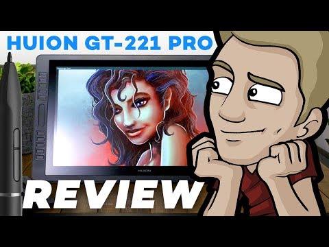 Huion GT-221 PRO:  Digital Tablet Review!