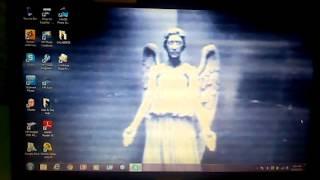 Weeping Angels desktop wallpaper