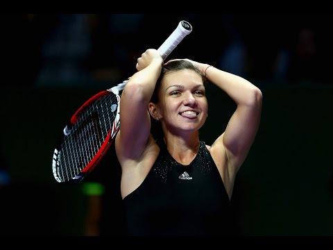 Simona Halep vs Serena Williams  2014 WTA Finals Highlights
