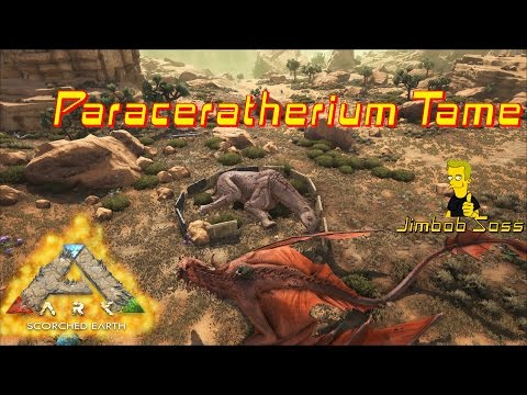 ARK Scorched Earth Paraceratherium Tame