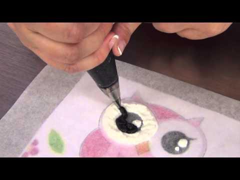 Frozen Buttercream Transfers by www SweetWise com