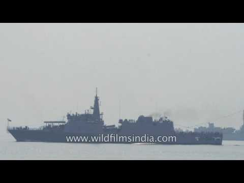 INS Sumitra, the fourth and last Saryu class patrol vessel of the Indian Navy