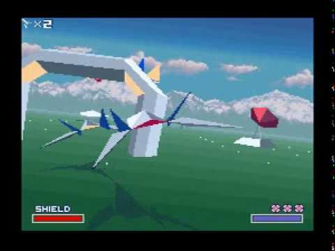 SNES Star Fox (EU Starwing) - Corneria (Easy)