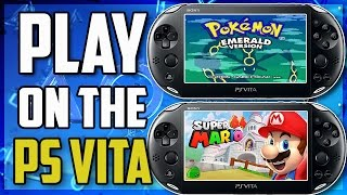Playing Pokemon & Super Mario on the PS Vita