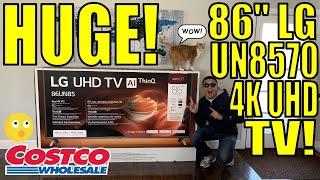 "LG 86"" 4K UHD Smart LED TV from Costco!"