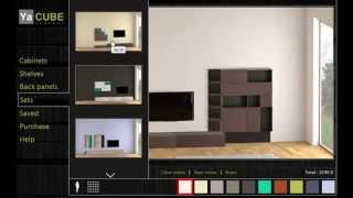Yacube Magnetic Modular Furniture 3d Planner Videoguide