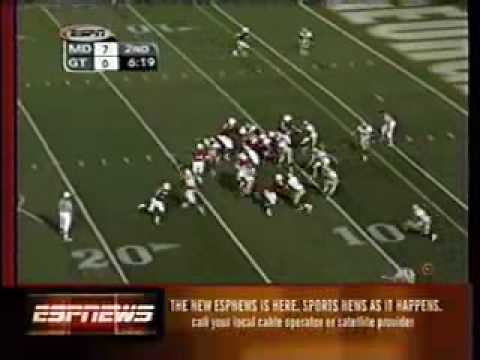 Jafar Williams TD vs. Georgia Tech, 2001
