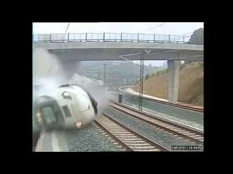 CRASH ACCIDENT TGV ESPAGNE