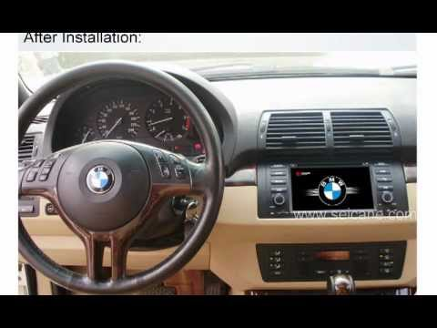 bmw x5 e39 m5 e53 dvd player youtube. Black Bedroom Furniture Sets. Home Design Ideas