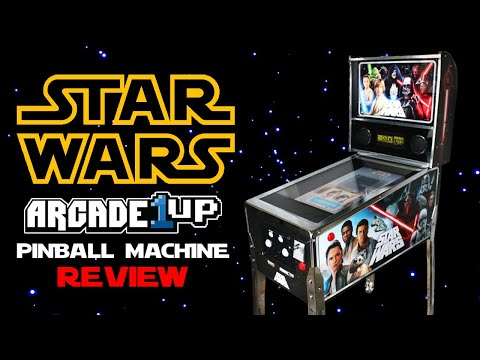Arcade1Up Star Wars Digital Pinball Machine Review! from Arcade Warrior
