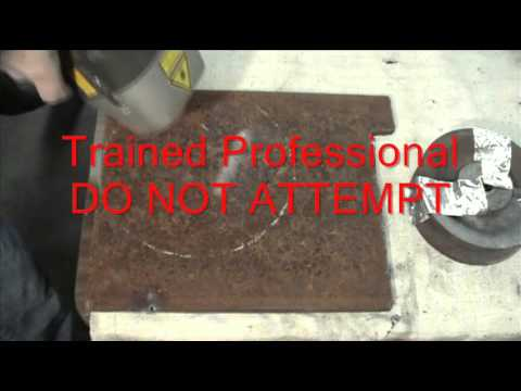 clean LASER Africa 1000 Watt Laser Rust Removal & Fingernail Cleaning