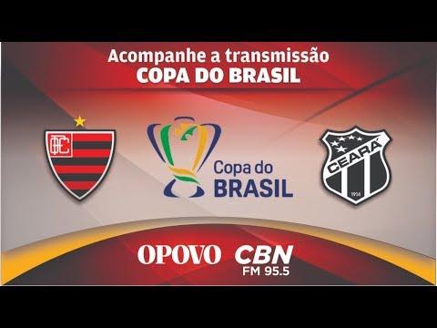 OESTE X CEARÁ|COPA DO BRASIL- AO VIVO- 2ª FASE