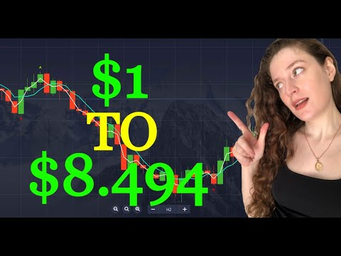 $1 to $8.494   Binary Options Trading Strategy