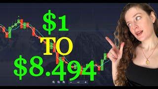 $1 a $8.494   Estrategia comercial de opciones binarias