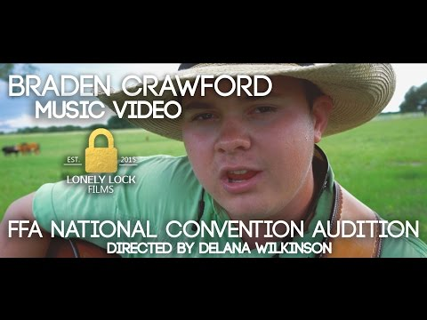 Braden Crawford   Music Video   FFA National Convention Audition   4K