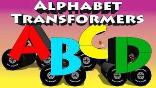 Alphabet Transformers - Alphabet Video For Children Learn ABC's