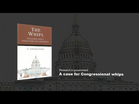 Evans: A case for Congressional whips