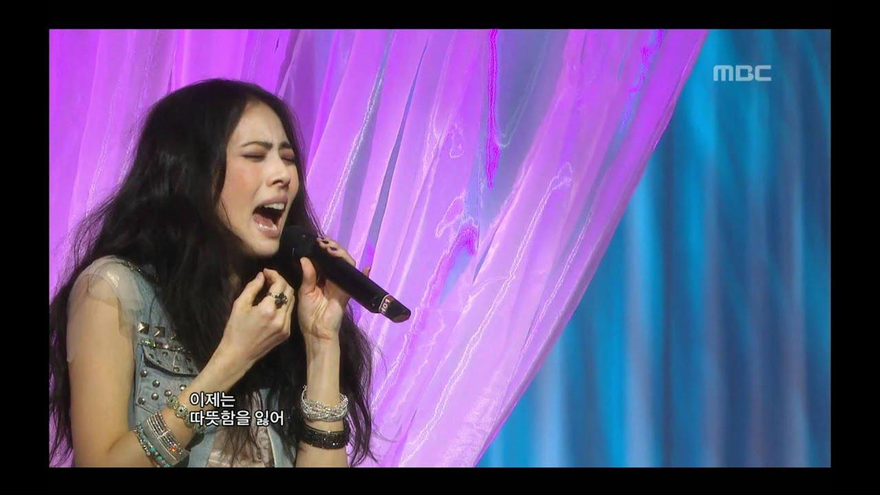 Park Ji-yoon - Faded Memory, 박지윤 - 바래진 기억에, Music Core 20090502
