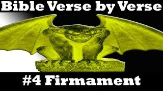 ☠ The Bible Verse By Verse 04: Heaven And The Firmament