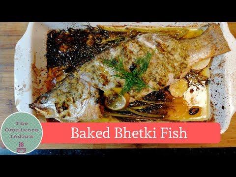 Baked Bhetki Fish -  বেকড ভেটকি মাছ – সাহেবি স্টাইল রেসিপি