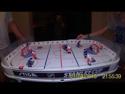 1st Official Game in 2018 Gus National Hockey League